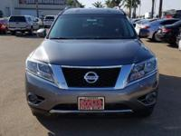 Options:  2015 Nissan Pathfinder S|Gray|3Rd Row Seats: