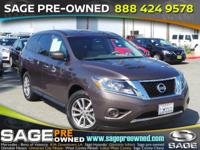 Sturdy and dependable, this certified Used 2015 Nissan