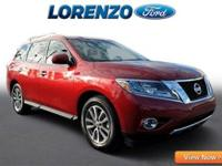 Options:  2015 Nissan Pathfinder|Red/|V6 3.5 L