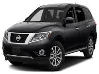 Options:  2015 Nissan Pathfinder Sl|Miles: 21335Color: