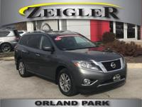 Options:  2015 Nissan Pathfinder Sv|Gray|4Wd|Abs