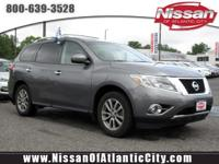 Come see this certified 2015 Nissan Pathfinder SV. Its