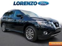 Options:  2015 Nissan Pathfinder Sv|Black/|V6 3.5 L