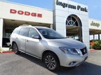 2015 Nissan Pathfinder SV. This SUV offers a cavernous