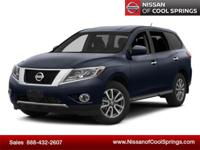 This Pathfinder is Nissan Certified Pre-Owned and, It's