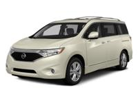 2015 Nissan Quest Silver  CARFAX One-Owner. ABS brakes,