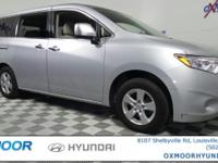 Nissan Quest CARFAX One-Owner. CVT with Xtronic 27/20