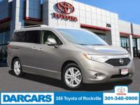 This outstanding example of a 2015 Nissan Quest SL w/