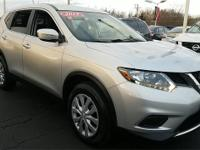 Certified. 2015 Nissan Rogue S CARFAX One-Owner.