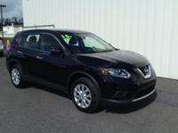 ONE OWNER!! 2015 NISSAN ROGUE S!! AWD, 2.5L, BACK UP
