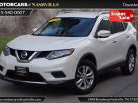 This 2015 Nissan Rogue 4dr AWD 4dr SV features a 2.5L