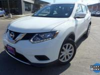 Options:  2015 Nissan Rogue S|4 Speakers|Am/Fm Radio|Cd