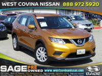 CARFAX One-Owner. Clean CARFAX. Gold 2015 Nissan Rogue