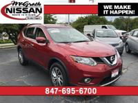 Recent Arrival! 2015 Nissan Rogue SL All Wheel Drive in