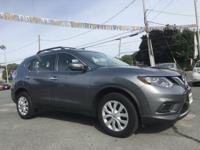 2015 Nissan Rogue S Gray AWD. 25/32mpg Awards:   * 2015