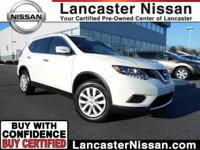 Our CarFax One Owner 2015 Nissan Rogue S AWD in Glacier