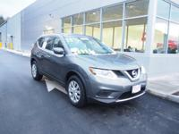 One owner with a clean CARFAX.  The 2015 Nissan Rogue S