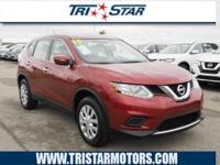 This 2015 Nissan Rogue S includes a backup camera,