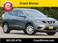 CARFAX One-Owner. Clean CARFAX. Gray 2015 Nissan Rogue