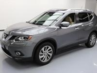 2015 Nissan Rogue with 2.5L I4 Engine,Leather