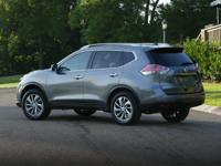 2015 Nissan Rogue 33/26 Highway/City MPG      Clean