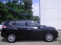 Options:  2015 Nissan Rogue Black|2.5L 4 Cyls|Cvt