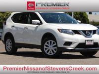 Clean CARFAX. Certified. White 2015 Nissan Rogue FWD