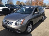 CARFAX One-Owner. Gray 2015 Nissan Rogue Select S AWD