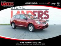 CARFAX One-Owner. Red 2015 Nissan Rogue Select S AWD