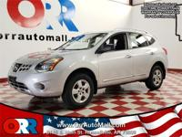 Silver 2015 Nissan Rogue Select S AWD CVT with Xtronic