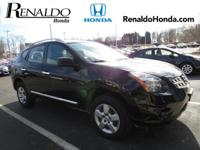 2015 Nissan Rogue Select S Black   CARFAX One-Owner.