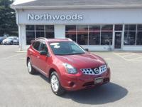 CARFAX One-Owner. Clean CARFAX. Cayenne Red 2015 Nissan