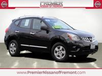 CARFAX One Owner. Clean CARFAX. Super Black 2015 Nissan