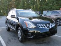 Black 2015 Nissan Rogue Select S FWD CVT with Xtronic