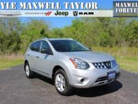 2015 NISSAN ROGUE SELECT S IN BRILLIANT SILVER!!