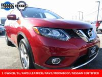 New Price! 2015 Nissan Rogue SL Cayenne Red ++NISSAN