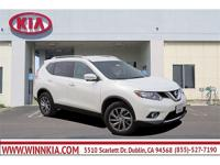 CARFAX One-Owner. Clean CARFAX. White 2015 Nissan Rogue