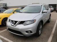 Options:  2015 Nissan Rogue Sl|Silver/Charcoal|V4 2.5 L