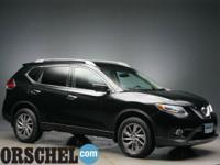 Certified!2015 Nissan Rogue SL BlackCARFAX One-Owner.