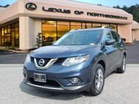 2015 Nissan Rogue SL in Arctic Blue, SUNROOF /