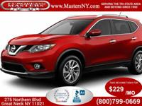 This Beautiful Burgundy 2015 Nissan Rogue SL Sport