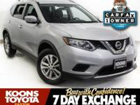 2015 NISSAN ROGUE SV IN BRILLIANT SILVER, BACKUP