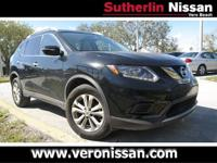CARFAX One-Owner. Clean CARFAX. Black 2015 Nissan Rogue
