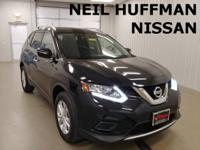 New Price! Super Black 2015 Nissan Rogue SV AWD CVT
