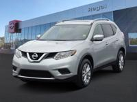 2015 Nissan Rogue SV Nissan Certified Brilliant Silver