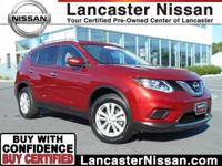 Presented in Cayenne Red, our One Owner 2015 Nissan