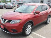 Cayenne Red 2015 Nissan Rogue SV FWD CVT with Xtronic