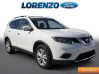 Options:  2015 Nissan Rogue Sv|White/Almond|V4 2.5 L