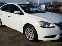 Certified. 2015 Nissan Sentra FE+ S CARFAX One-Owner.
