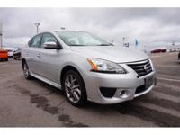 CARFAX One-Owner. Clean CARFAX. Super Black 2015 Nissan
